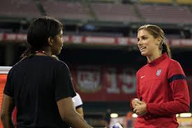U.S. soccer star makes pitch: More ladies to coach young girls sports